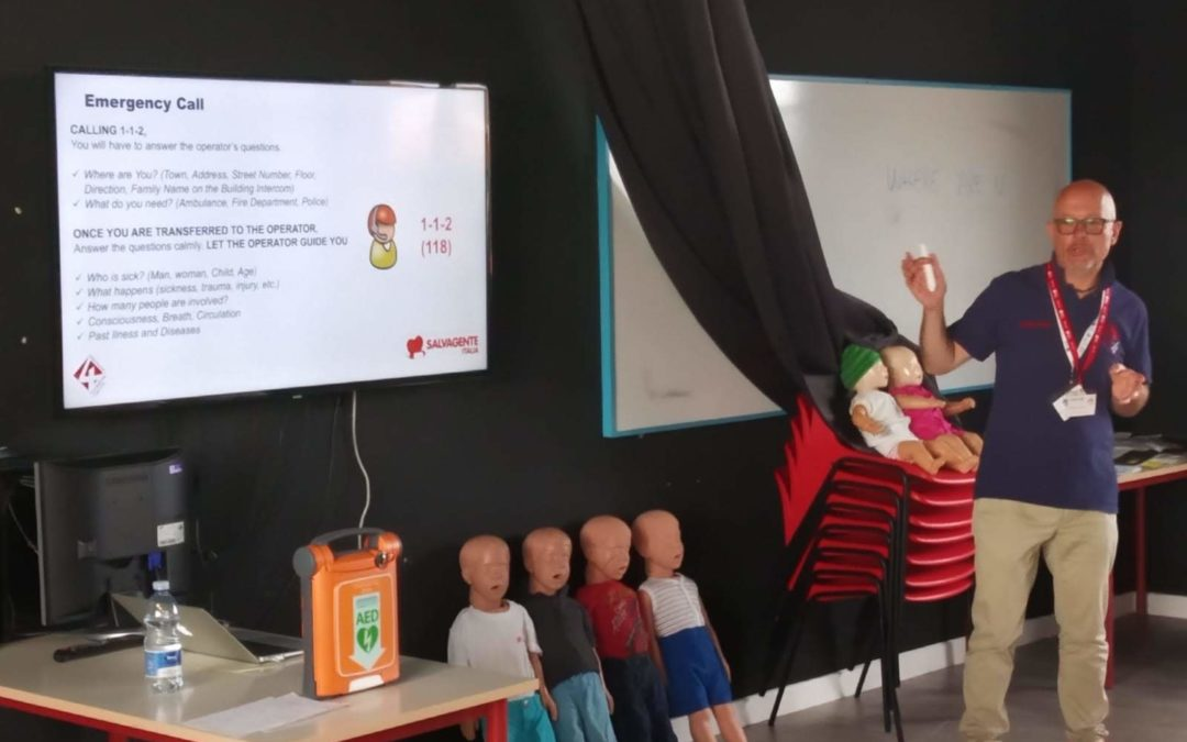 Milan – Pediatric Basic First Aid (Training in English) – Private Training